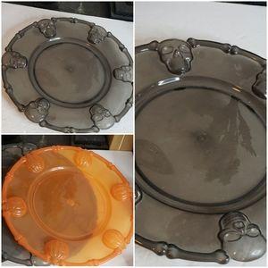 Halloween Trays / Giant Plastic Plates x3